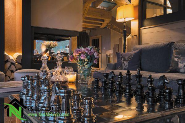 شطرنج در دکوراسیون داخلی