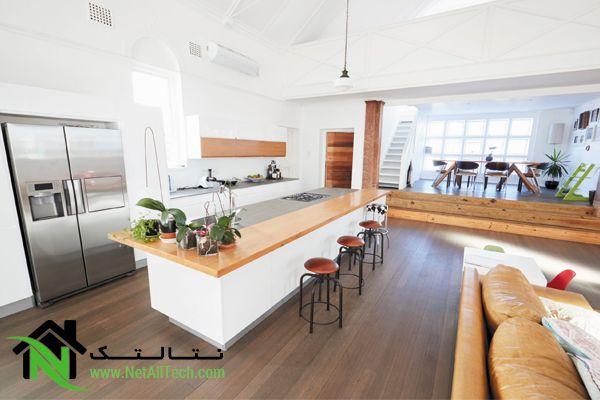 آشپزخانه اپن در دکوراسیون داخلی