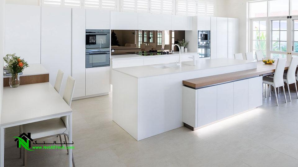 تاثیر کابینت در آشپزخانه