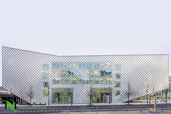 نمای هوشمند ساختمان
