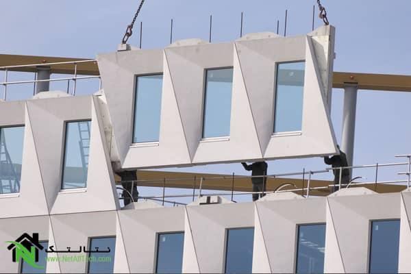 نمای پیش ساخته ساختمان