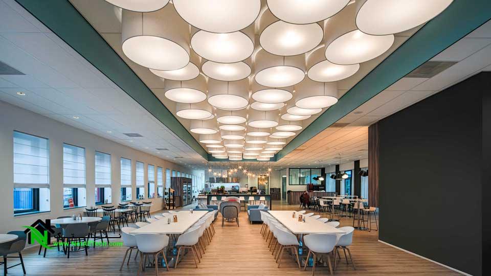 نورپردازی ساختمان ، محیط داخلی