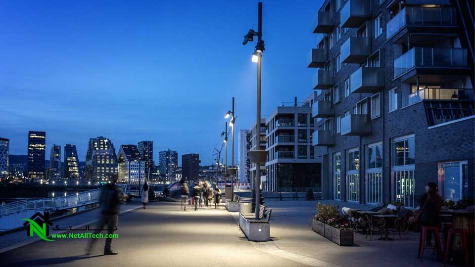 نورپردازی ساختمان ، محیط خارجی