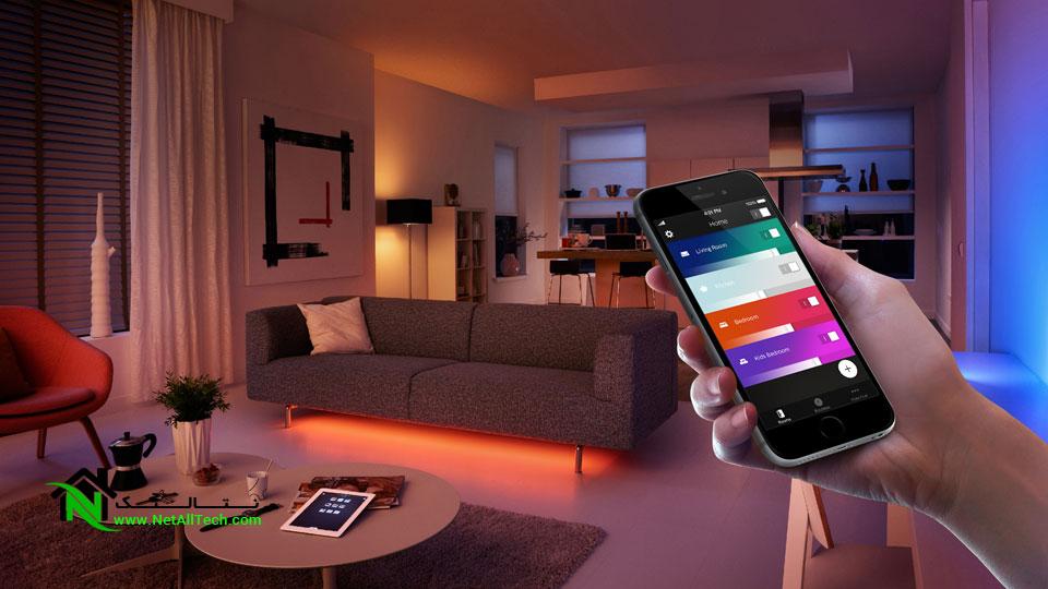 نورپردازی هوشمند در هوشمند سازی خانه